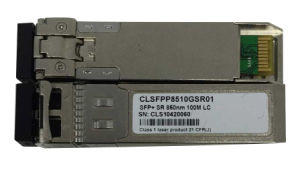 China Factory Supply SFP+ Sr 850nm 100m LC Transceiver