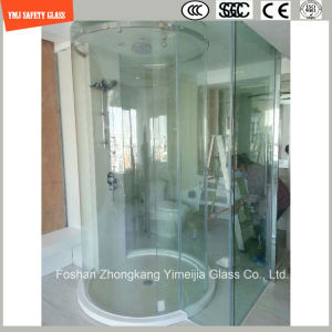3-19mm Silkscreen Print/Acid Etch/Frosted/Pattern Irregular Bent Safety Tempered/Toughened Glass for Constuction/Shower with SGCC/Ce&CCC&ISO Certificate pictures & photos