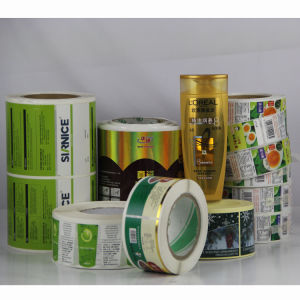 Color Printed Self-Adhesive Label Sticker pictures & photos