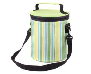 2017 New Round Lunch Bag Outdoor Portable Oxford Picnic Bag pictures & photos