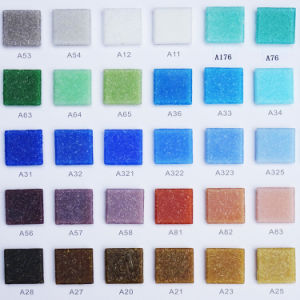 Blue Glass Mosaic for Swimming Pool Tile pictures & photos