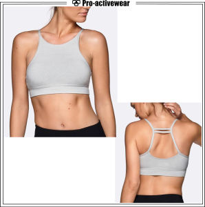 Private Label Custom Fitness Workout Gym Sports Bra pictures & photos