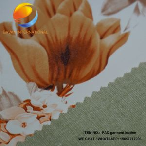 Good Price Rexin Fabric for Garment Fac2 pictures & photos