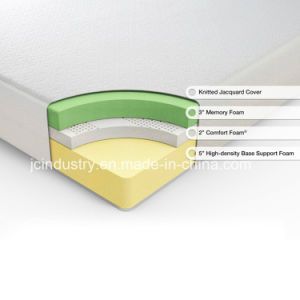 Memory Foam High Density Compressed Foam Sponge Mattress pictures & photos