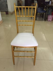 Fixed Soft Seat Metal Wedding Events Tiffany Chiavari Chair (JY-J05) pictures & photos
