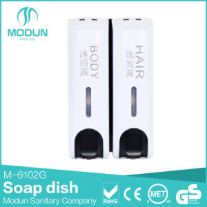 350/350*2/350*3ml Wall Mounted Liquid Soap Dispenser in White Color pictures & photos