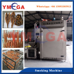 Industrial Electric and Steam Smoked Smoking Fish Machine Equipment pictures & photos