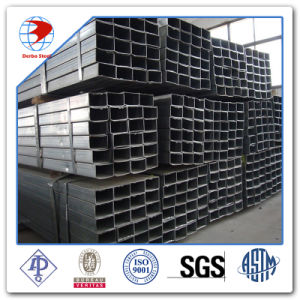 A53 20X10X2mm Galvanized Ms Rectangular Tube pictures & photos