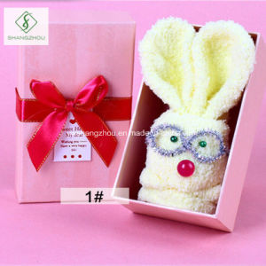 2017 New Design Socks Kewpie Rabbit Custom Children Gift Box pictures & photos