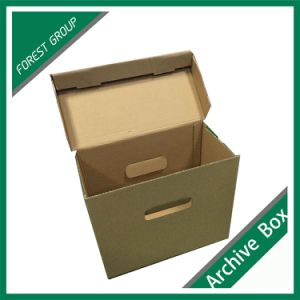 High Qualiy Customized File Paper Packing Boxes pictures & photos