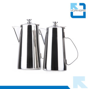 Practical Use 201 Stainless Steel Water Kettle and Tea Pot with Long Spout pictures & photos