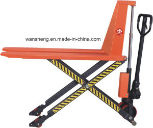 Widely Used Scissor Lift Pallet Truck pictures & photos