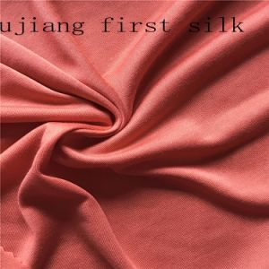 Printed Silk Single Jersey Silk Fabric pictures & photos