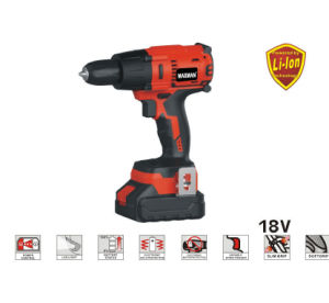 18V Li-ion Cordless Impact Drill pictures & photos