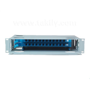 24 Ports Rack-Mount Fiber Optic Distribution Frame/ODF pictures & photos