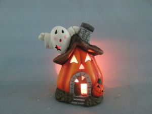 Halloween Pumpkin Ceramic Arts and Crafts (LOE2681-17z) pictures & photos