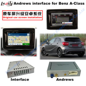 Android GPS Navigation System Video Interface for Mercedes-Benz a Class (NTG-4.5) pictures & photos