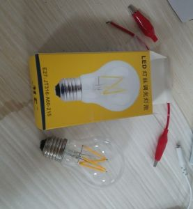 Triac Dimmable Glass LED Filament Bulb pictures & photos