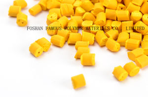 China Color Yellow Plastic Masterbatch Manufacturer pictures & photos