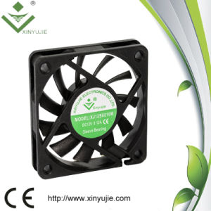 60*60*10mm Small 12V Waterproof IP55 DC Brushless Fan pictures & photos