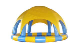 Amazing Design Inflatable Swimming Pool with Dome (CHW311) pictures & photos