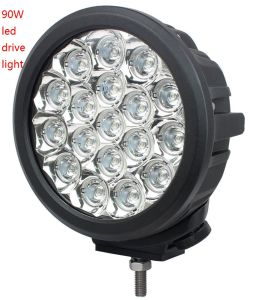 7inch 90W CREE LED off Road Driving Spot Light for Vehicles Trucks pictures & photos