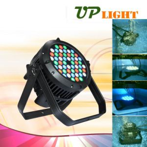 54PCS 3W LED PAR Waterproof Stage Light for Music Club pictures & photos