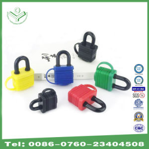 40mm Waterproof Steel Laminated Padlock with Colorful Thermoplastic Cover (740WPC) pictures & photos