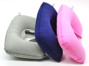 Inflatable Neck Pillow Inflatable Travel Pillow in Pillow pictures & photos
