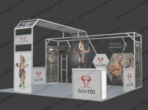 Customized Aluminium Exhibition Booth pictures & photos