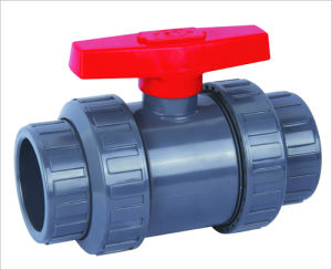 PVDF Ball Valve/double union ball valve/truion ball valve pictures & photos