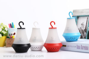 Colorful Portable Wireless LED Bluetooth Speaker with Powerbank 2000mA (WSA-8608)