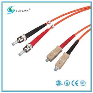 ST/PC-SC/PC mm 50/125 Duplex 2m Fo Patch Cord pictures & photos