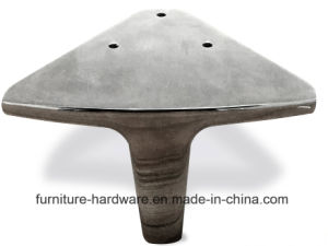 Standard Furniture Hardware Parts Aluminum Sofa Leg with Good Performance pictures & photos