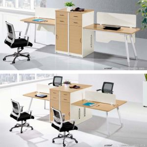 fashion 2-4workstation Office Partition with Cabinet