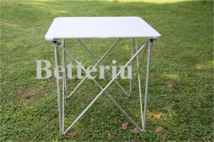 Folding Picnic Aluminum Table for Sale pictures & photos