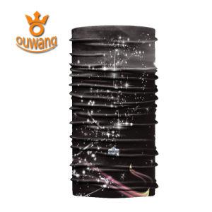 Cheap Seamless Microfiber Polyester Plain Customize Bandana pictures & photos
