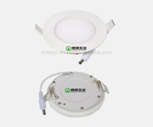Slim Round LED Panel Light 3W 140lm pictures & photos