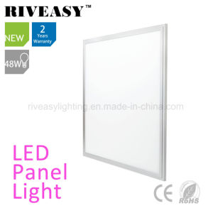 48W LED Panel with PMMA LGP 90lm/W Ra>80 pictures & photos