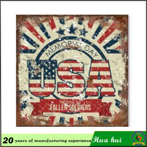Wall Decoration Sheet, Wall Decoration Metal Signs Wall Hanging Decoration C09-a pictures & photos