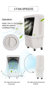 Commercial Portable Air Cooler Body Plastic for Outdoor Parties Renting pictures & photos