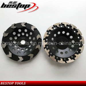 D125mm Diamond Grinding Wheel for Concrete pictures & photos