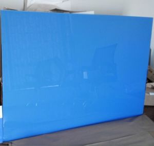 Tempered Silkscreen Printing Whiteboard with with AS/NZS2208: 1996, BS6206, En12150 Certificate pictures & photos