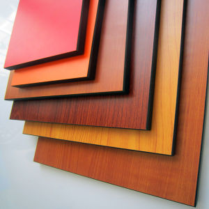 HPL Texture Laminate Board Decorative Panels Price pictures & photos