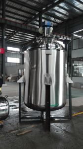 2000L Stainless Steel Jacketed Liquid Mixing Tank