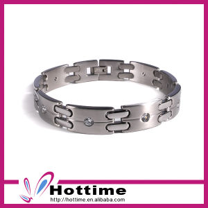 2017 Hot Sales Stainless Steel Ion Power Magnetic Bracelet (CP-JS-BL-143) pictures & photos