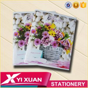 Wholesale Flower Cover Notebook Custom Printed School Exercise Book pictures & photos
