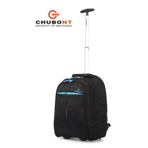 Chubont Hot Sell Waterproof 1680d Wheeled Laptop Trolley Backpack pictures & photos