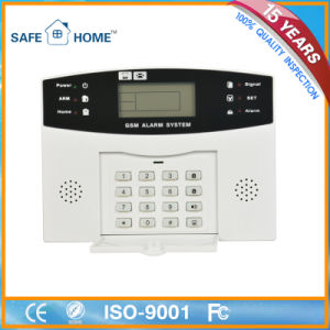 Home Security Mobile Phone GSM Wireless Alarm System pictures & photos