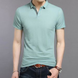 Business 100% Cotton Blank Polo T Shirt pictures & photos